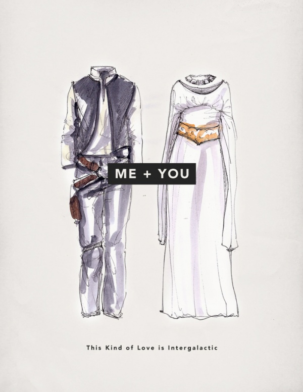 hans leia Me + You: Valentines Day Cards